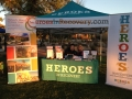 Heroes Tent for Health Fair