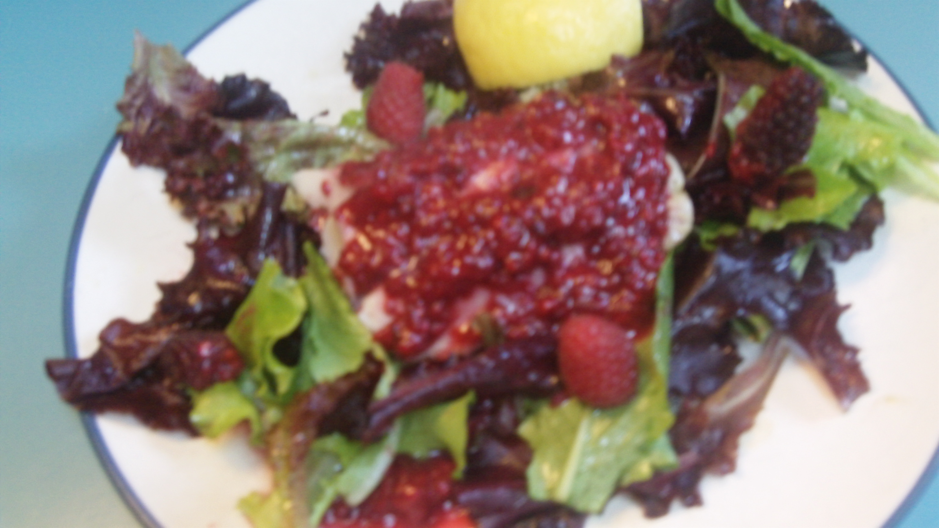A Shaman Chef Video Ling Cod with Local Berry Sauce