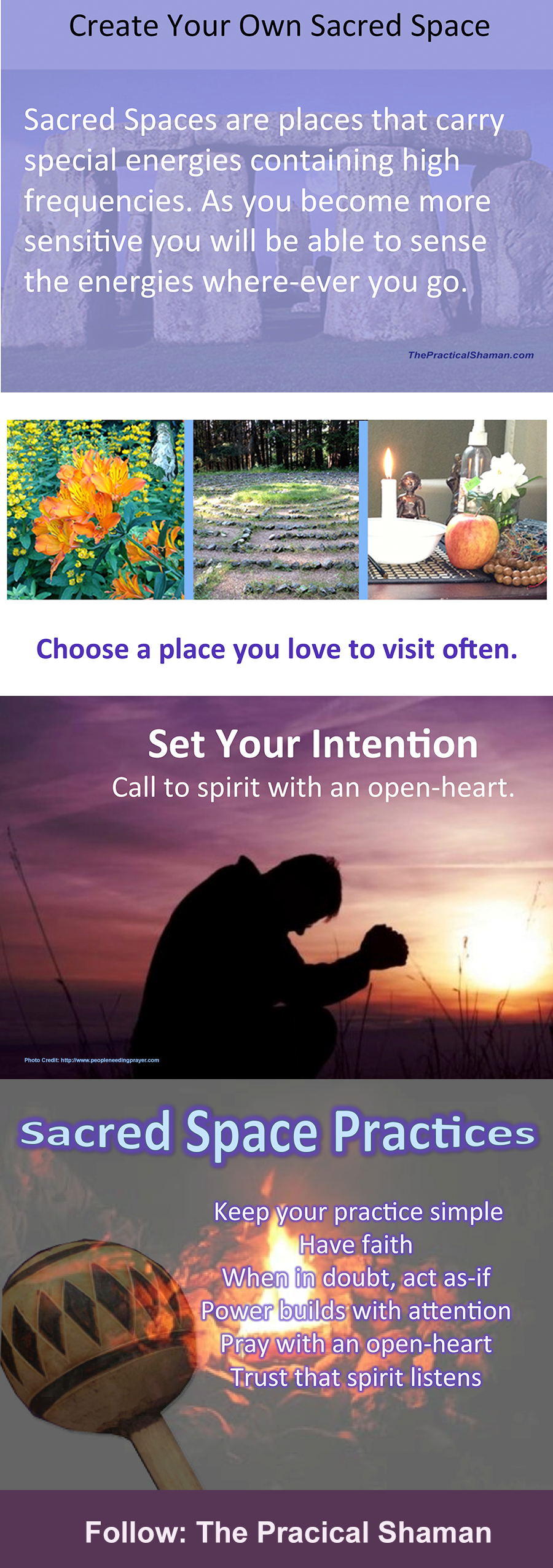 Tips for Creating Your Own Sacred Space