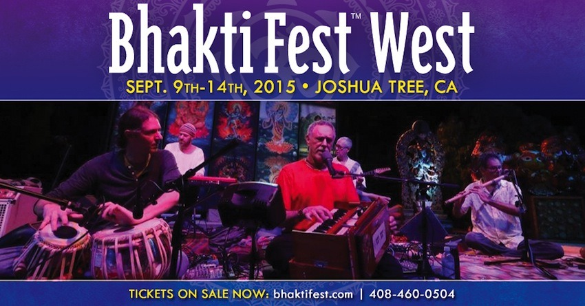 Win a Weekend Pass to the Bhakti Festival.