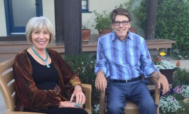 Christopher Knippers and Dr Joan Borysenko