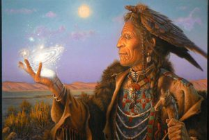 Native Elder by Charles Frizell