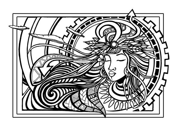 Wind Goddess La amaomoa — Hawaiian Ancestor from the East