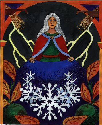 Holle––Hulda, Germanic Wind Goddess: Reap what you Sow