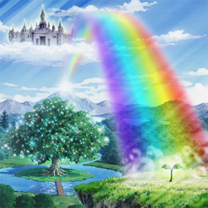 Rainbow-Bridge-Bifrost: If you resist change, your options will become limited, trapped like the giants who were unable to pass the firey bifrost (Rainbow Bridge) to reach the Milgard, the upper world of awakening.