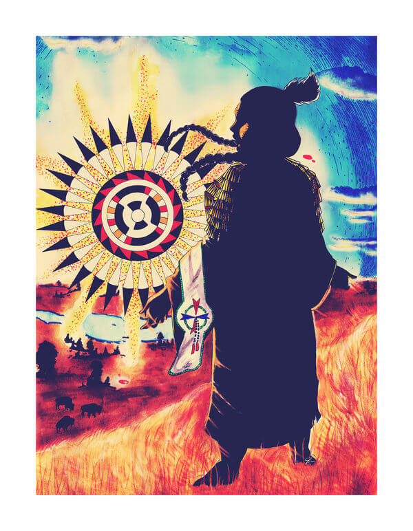 Lakota Sunrise by Jackie Fawn