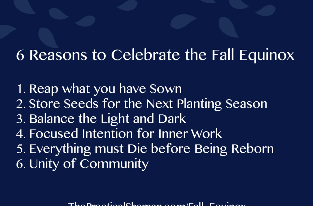 How will you celebrate the Fall Equinox?