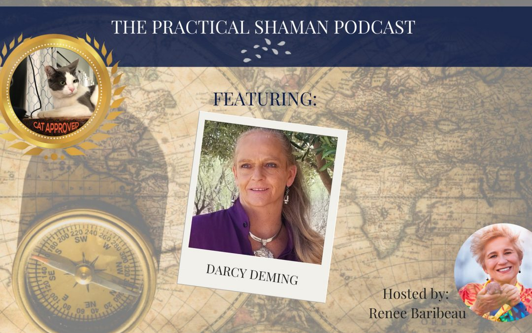 The Practical Shaman Podcast: The Sage Stone with author Darcy Deming