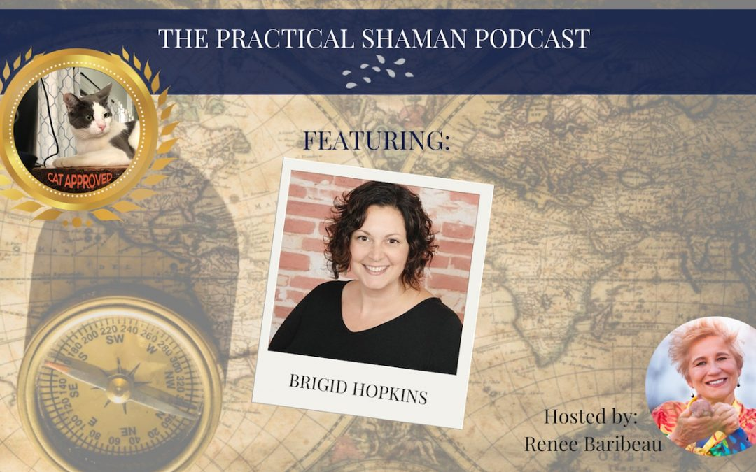 "The Practical Shaman Podcast: Brigid Hopkins and her book ""Feathers of a Phoenix"""
