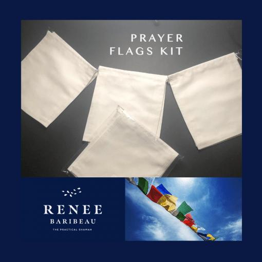 DIY prayer flags