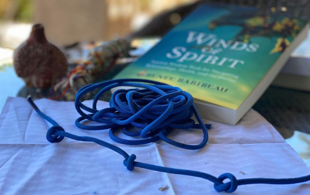 Wind Knots with Book