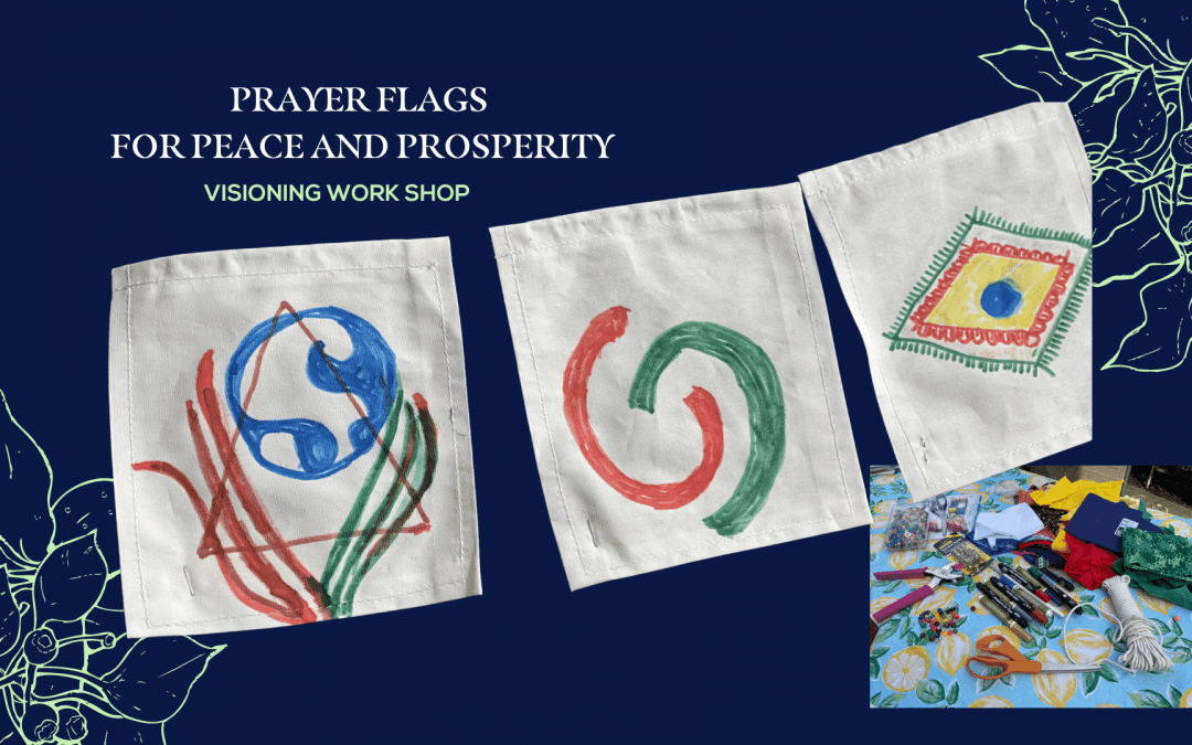 Prayer Flags for Peace and Prosperity 2- hour Play Shop
