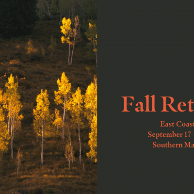 Fall Retreat Southern Maine