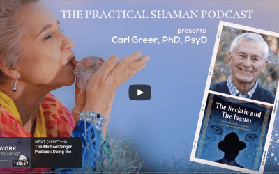 Renee Baribeau interviews Carl Greer, PhD, PsyD author of The Necktie and The Jaguar: A Memoir to Help You Change Your Story and Find Fulfillment